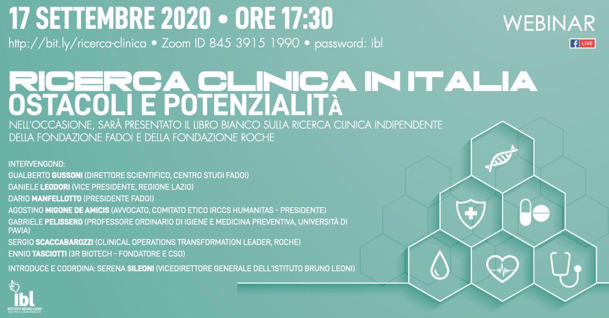 Ricerca clinica in Italia: ostacoli e potenzialità