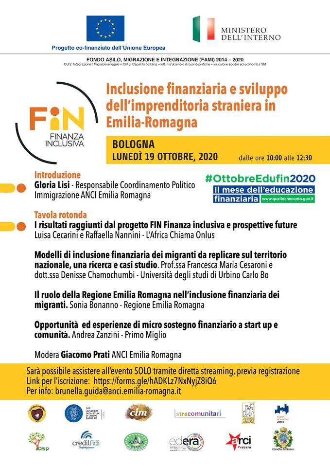 Inclusione finanziaria e sviluppo dell'imprenditorialità straniera in Emilia-Romagna