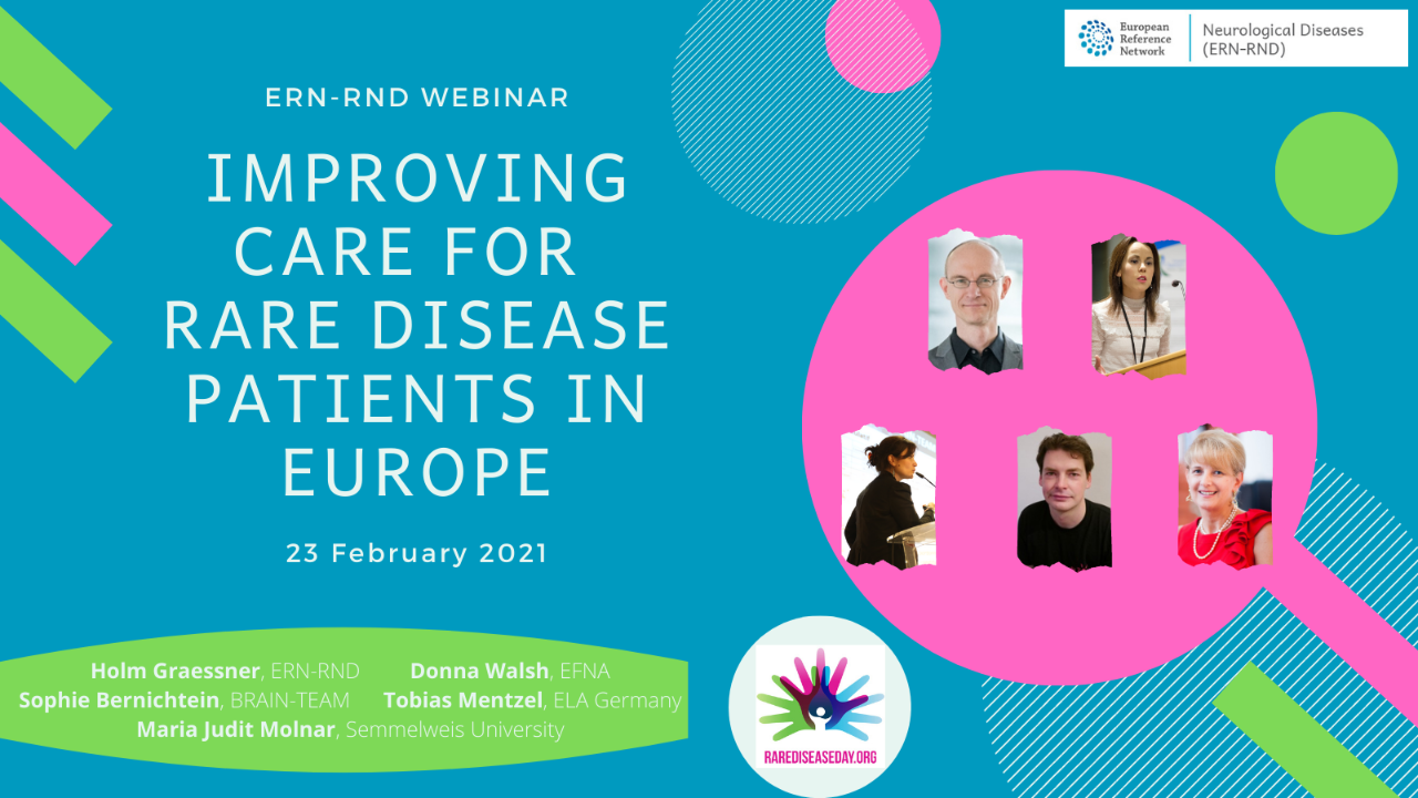 Improving care of rare disease patients in Europe - Rare Disease Day 2021