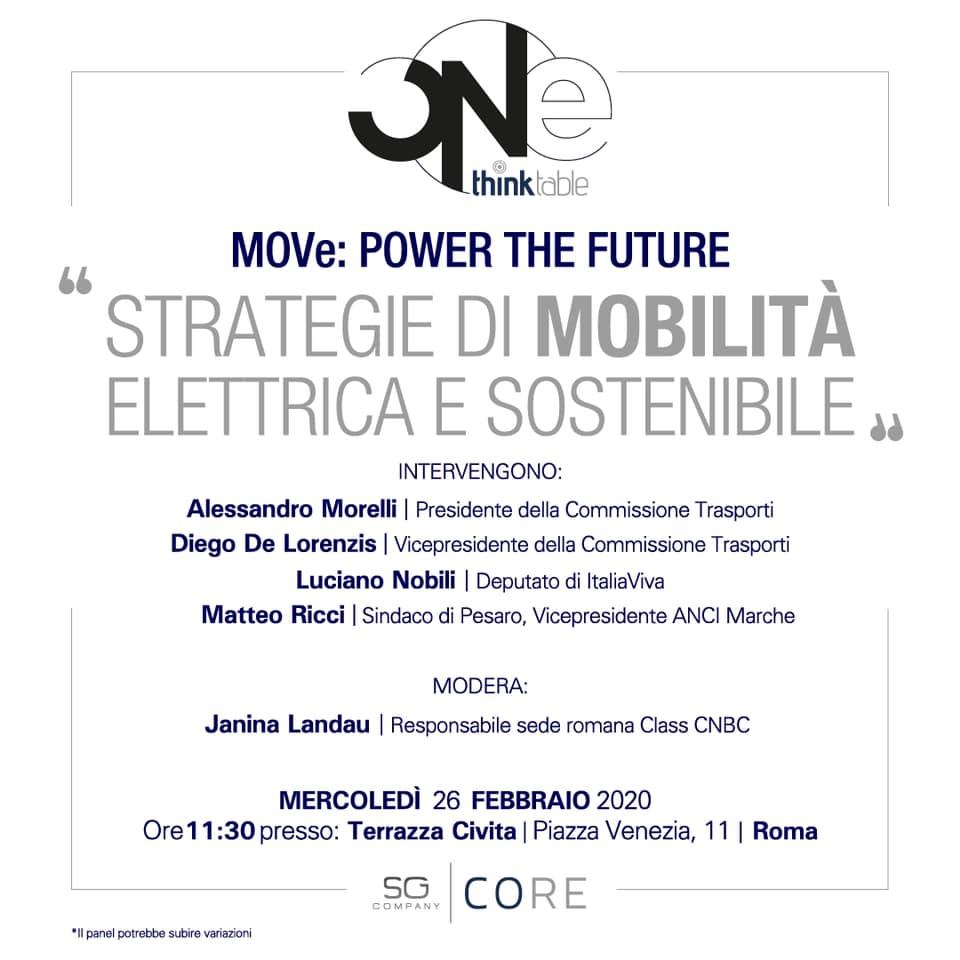 MOVe: power the future. Strategie di mobilità elettrica e sostenibile