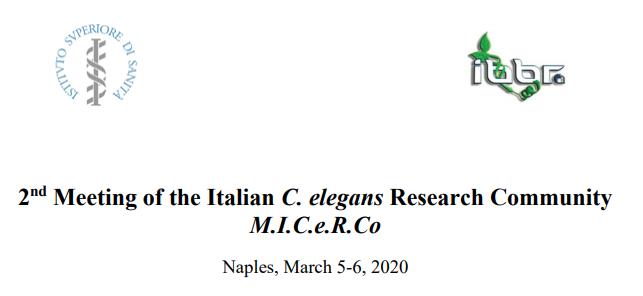 2nd Meeting of the Italian C. elegans Research Community (M.I.C.e.R.Co)
