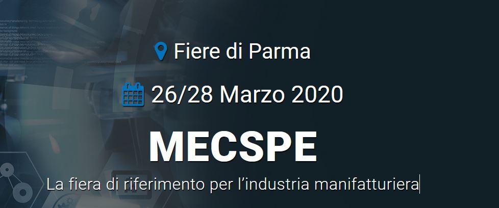MECSPE 2020 -  La fiera di riferimento per l'industria manifatturiera