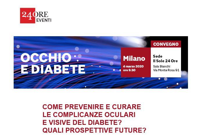 Occhio & Diabete. Prevenzione, cura e prospettive future