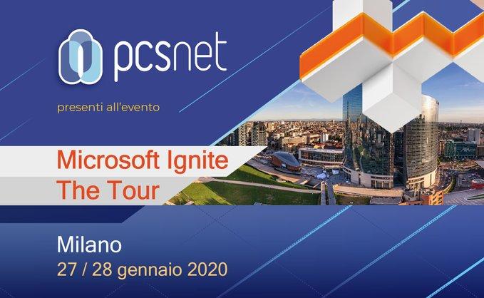 Microsoft Ignite The Tour - Milano