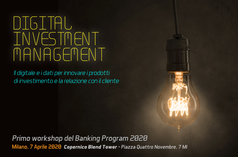 Digital investment management