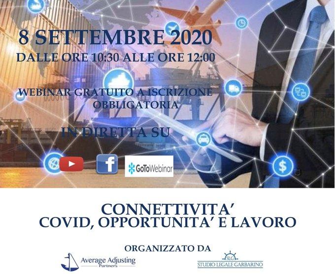 Connettività - Covid, opportunità e lavoro