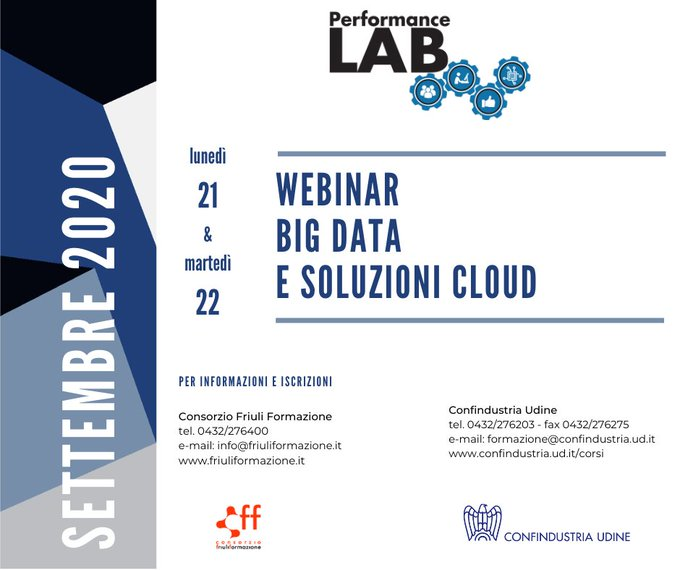 Big Data e soluzioni Cloud - Rispondere efficacemente a volumi di dati in costante crescita e alla maggior complessità progettuale