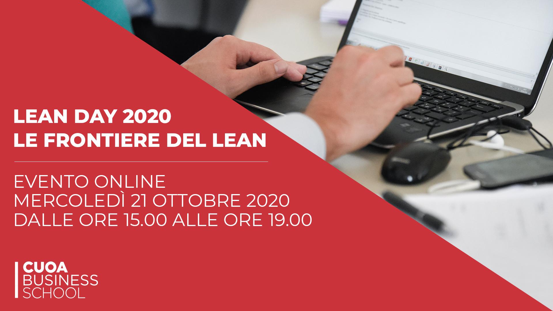 LEAN Day 2020: le frontiere del Lean