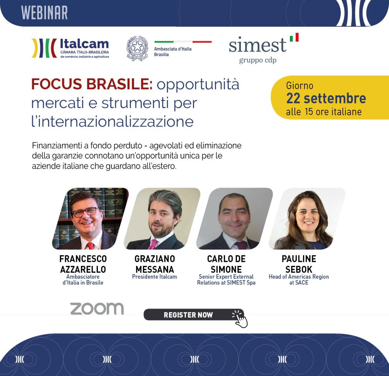 Focus Brasile: opportunità mercati e strumenti per l'internazionalizzazione