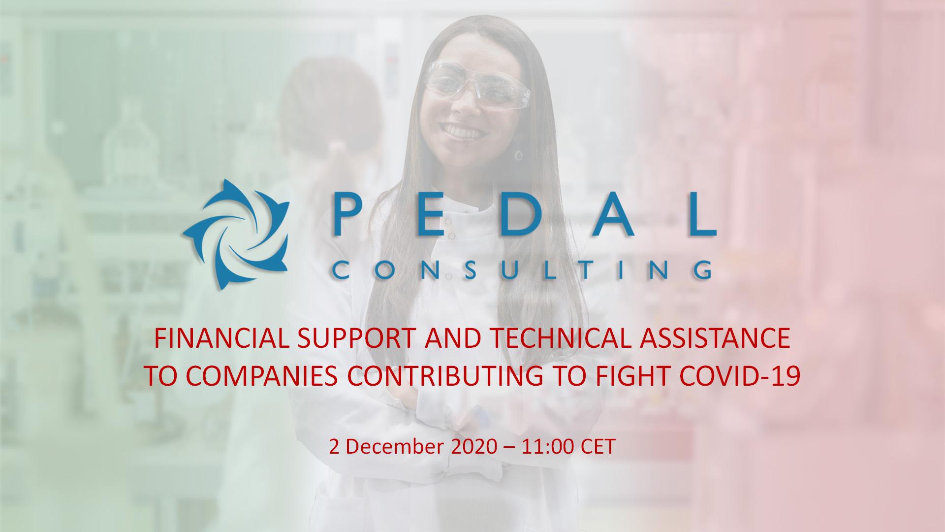 Supporto finanziario e assistenza tecnica alle aziende che contribuiscono alla lotta contro il COVID-19