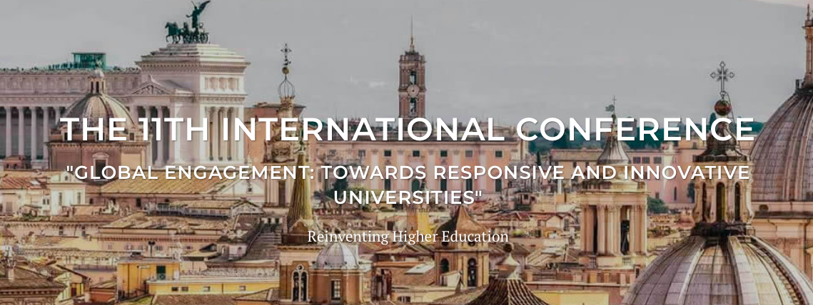 IE Reinventing Higher Education - 11th International Conference
