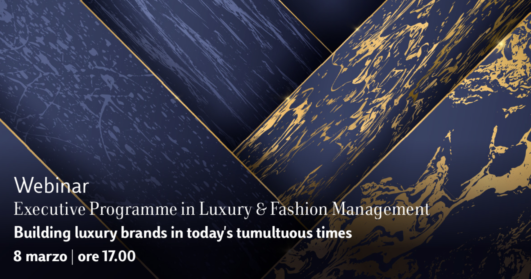 Building Luxury Brands in today's tumultuous times