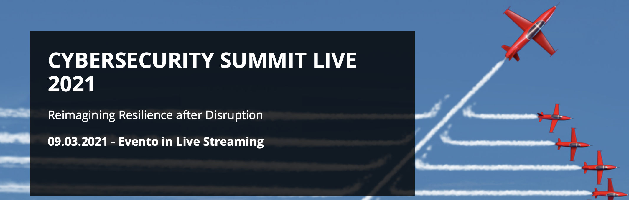 Cybersecurity Summit Live 2021