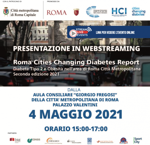 Presentazione del Roma Cities Changing Diabetes Report