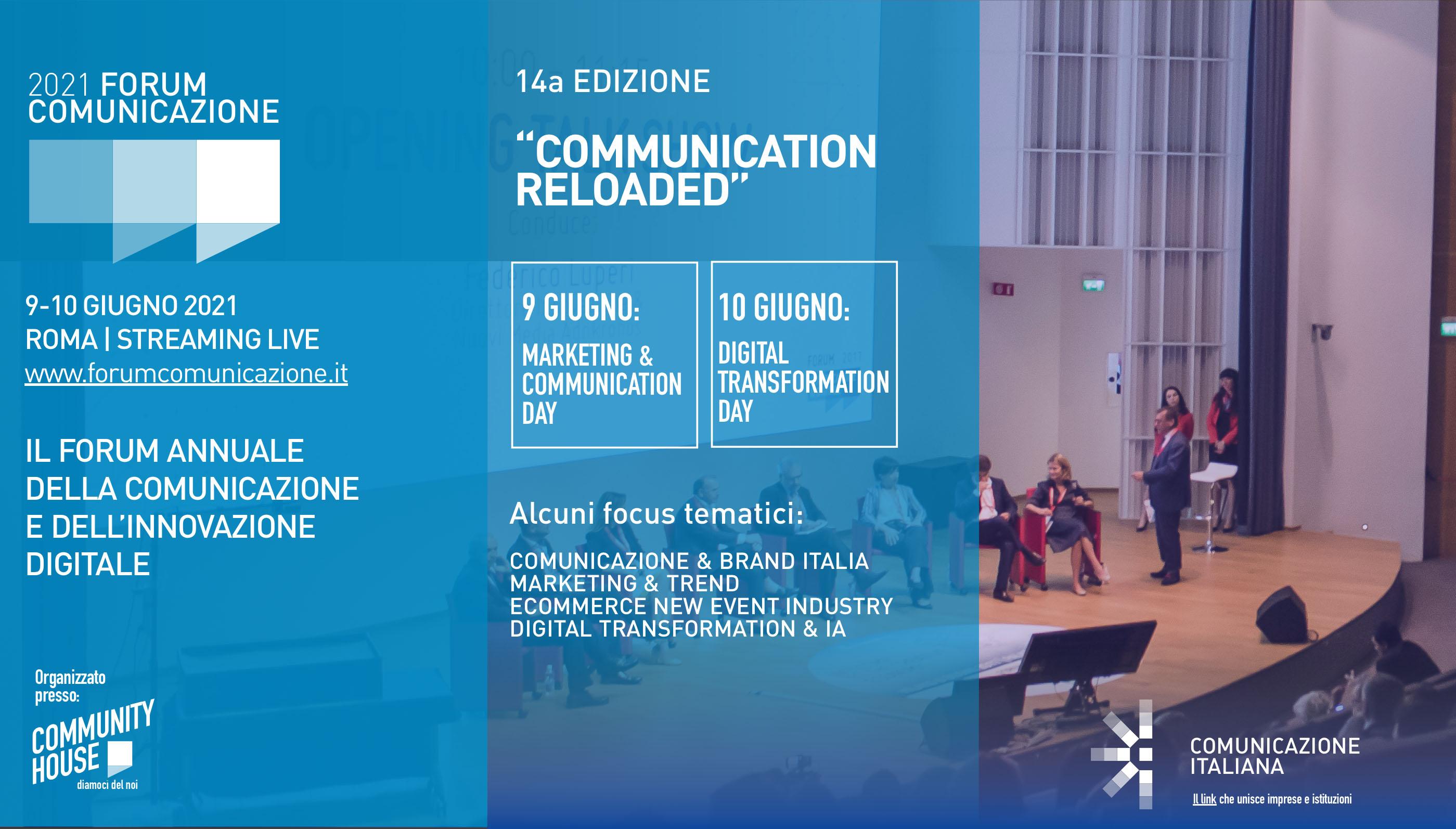 Forum Comunicazione 2021