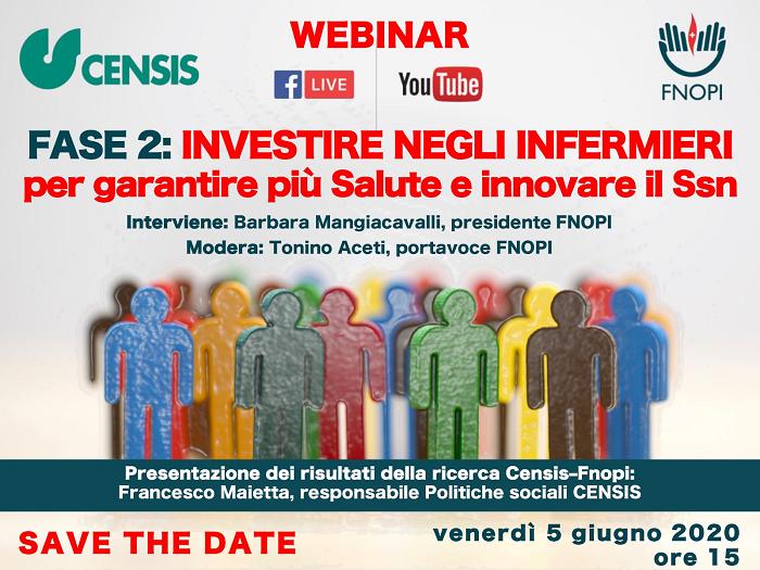 Fase 2: investire negli infermieri per garantire più salute e innovare il SSN