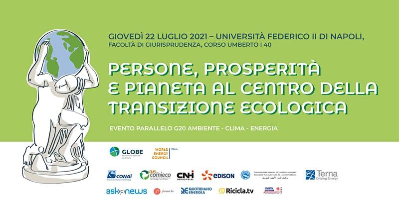 Persone, Prosperità e Pianeta al centro della Transizione Ecologica