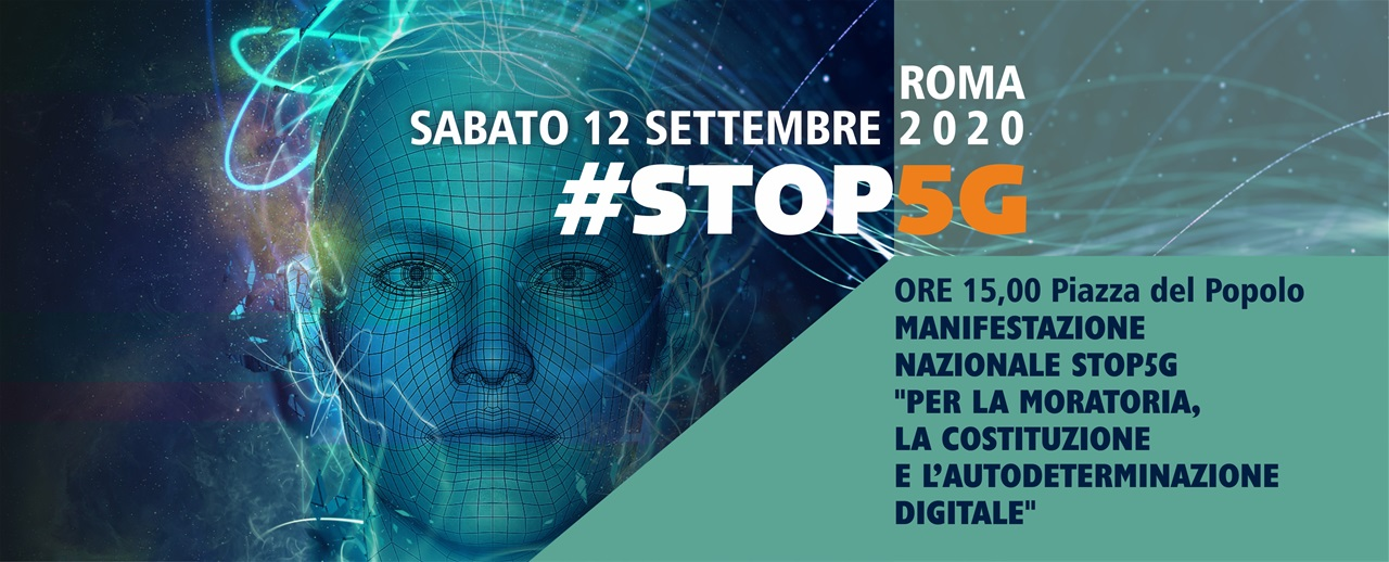 Conferenza stampa di presentazione della manifestazione nazionale Stop 5G