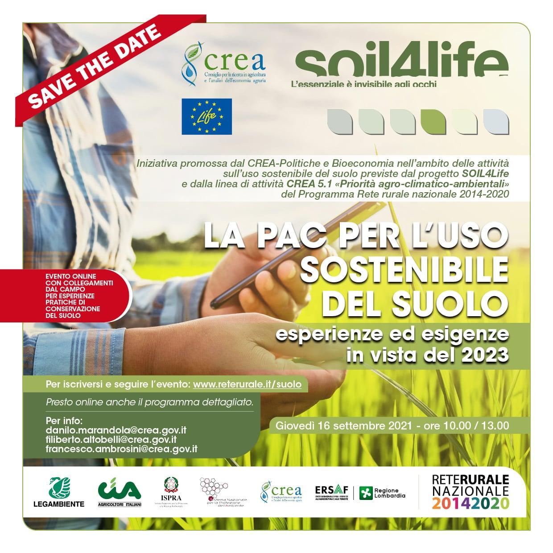 La Pac per l'uso sostenibile del suolo