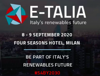 E-Talia Summit 2020 - Accelerating the Italian energy transition