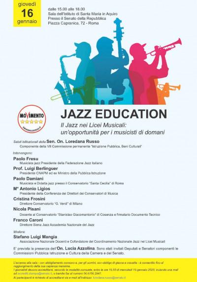 Jazz education. Il Jazz nei Licei Musicali: un'opportunità per i musicisti di domani