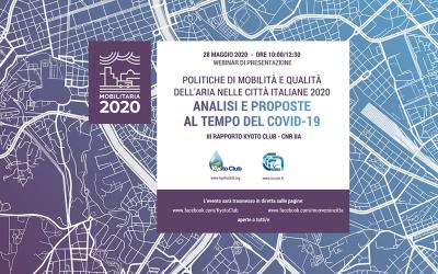 """Presentazione del rapporto """"MobilitAria 2020"""""""