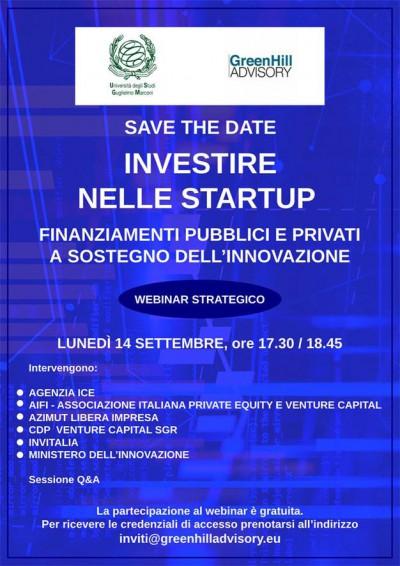 Investire nelle startup