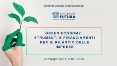 Green Economy: strumenti e finanziamenti per il rilancio delle imprese