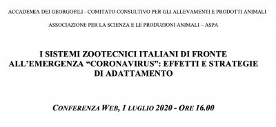 I sistemi zootecnici italiani di fronte all