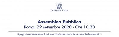 Assemblea Pubblica Confindustria