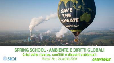 Ambiente e Diritti Globali: Crisi delle Risorse, Conflitti e Disastri Ambientali