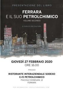 """Presentazione del libro: """"Ferrara e il suo petrolchimico"""""""