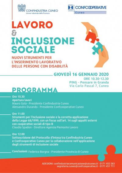 Lavoro e inclusione sociale. Nuovi strumenti per l