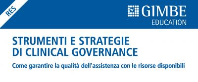 Strumenti e strategie di clinical governance