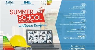 Summer school in efficienza energetica