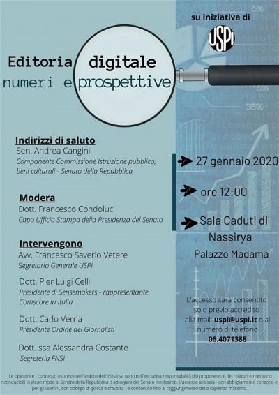 Editoria digitale numeri e prospettive