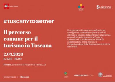 #TuscanyTogether - Il percorso Comune per il turismo in Toscana
