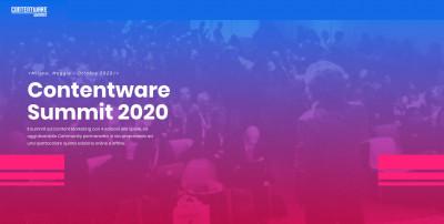 Presentazione di Contentware Summit 2020