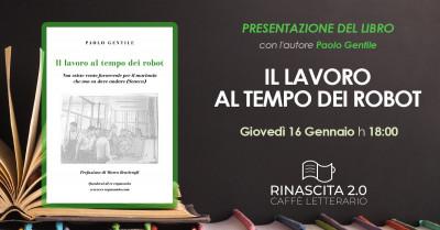 """Presentazione del libro: """"Il lavoro al tempo dei robot"""""""