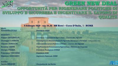 Green new deal: opportunità per rigenerare politiche di sviluppo e sicurezza e incentivare il lavoro di qualità