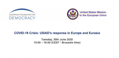 COVID-19 Crisis: USAID's response in Europe and Eurasia
