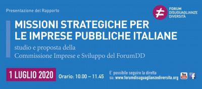 Missioni strategiche per le imprese pubbliche italiane