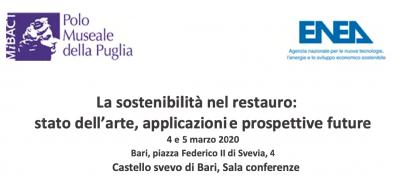 La sostenibilità nel restauro: stato dell'arte, applicazioni e prospettive future