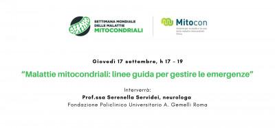 Malattie mitocondriali: linee guida per gestire le emergenze
