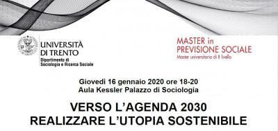Verso l'Agenda 2030. Realizzare l'utopia sostenibile