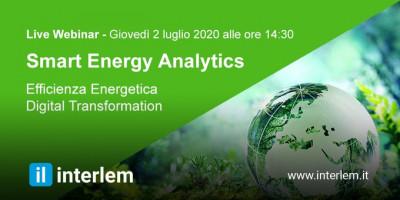 La business Analytics per analizzare i consumi e la produzione di energia ed il risparmio generato dai progetti di efficientamento energetico
