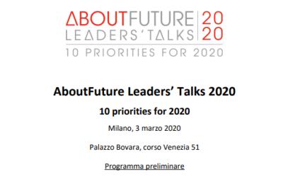 AboutFuture Leaders' Talks