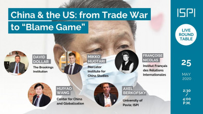 "China & the US: from Trade War to ""Blame Game"""