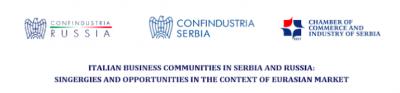 Le Comunità d'affari italiane in Serbia e Russia: Sinergie e Opportunità nel contesto del mercato euroasiatico
