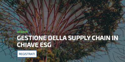 La gestione della supply chain in chiave ESG